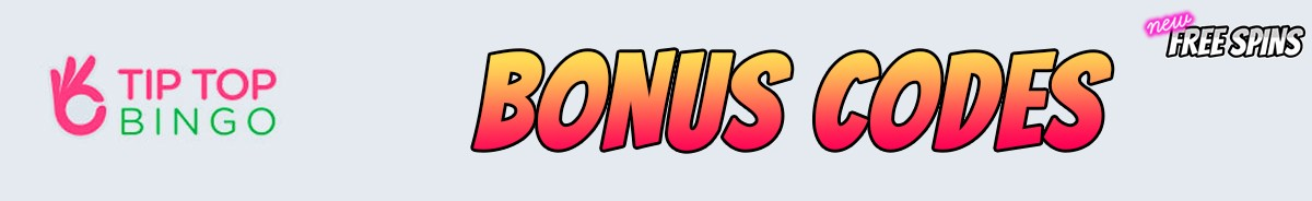Tip Top Bingo-bonus-codes