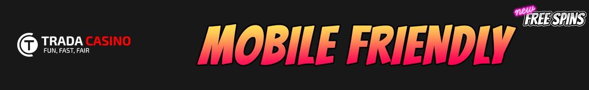 Trada Casino-mobile-friendly