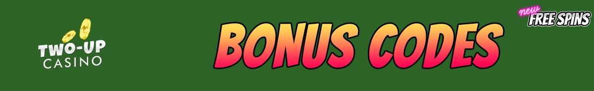 Two up Casino-bonus-codes