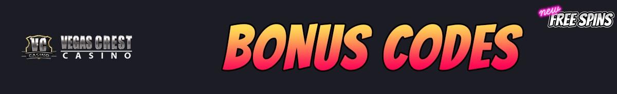 Vegas Crest Casino-bonus-codes