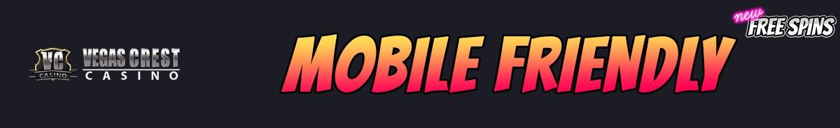 Vegas Crest Casino-mobile-friendly
