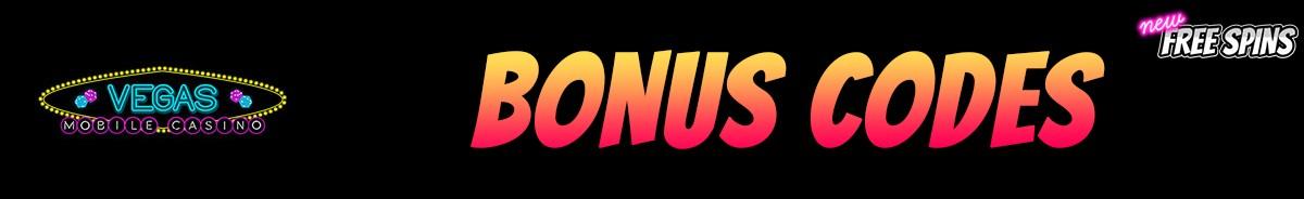 Vegas Mobile Casino-bonus-codes