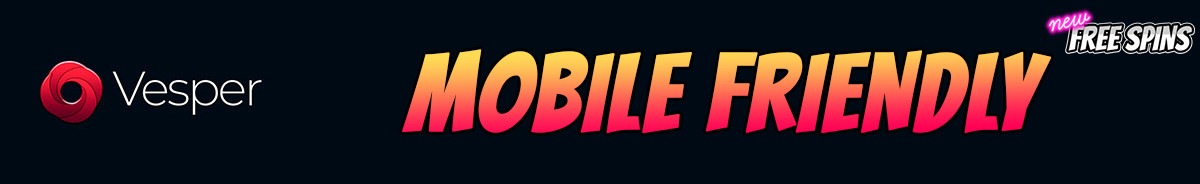 Vesper Casino-mobile-friendly