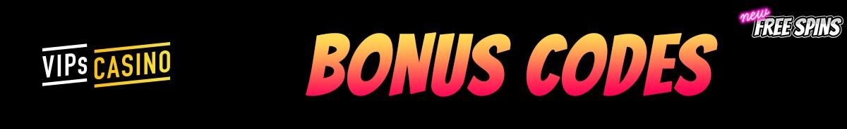 VIPs Casino-bonus-codes
