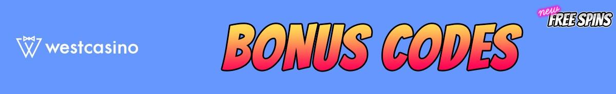 WestCasino-bonus-codes