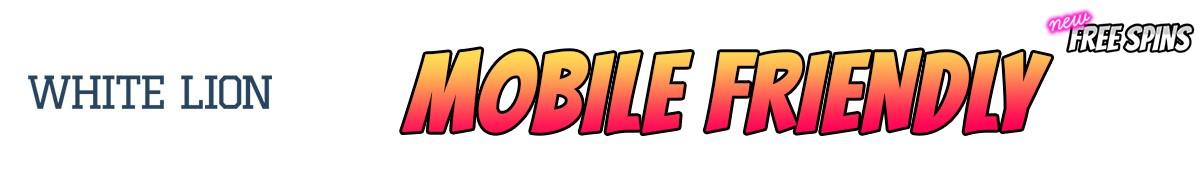 WhiteLionBet Casino-mobile-friendly