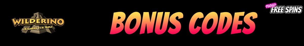 Wilderino-bonus-codes