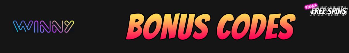 Winny-bonus-codes
