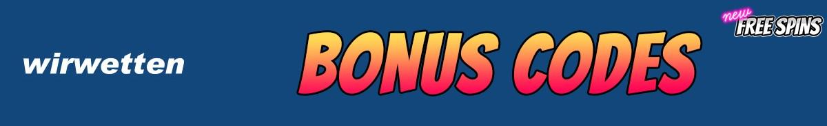 Wirwetten-bonus-codes
