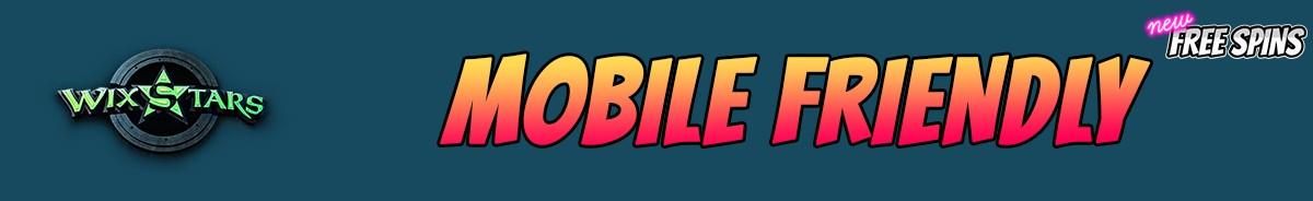Wixstars Casino-mobile-friendly