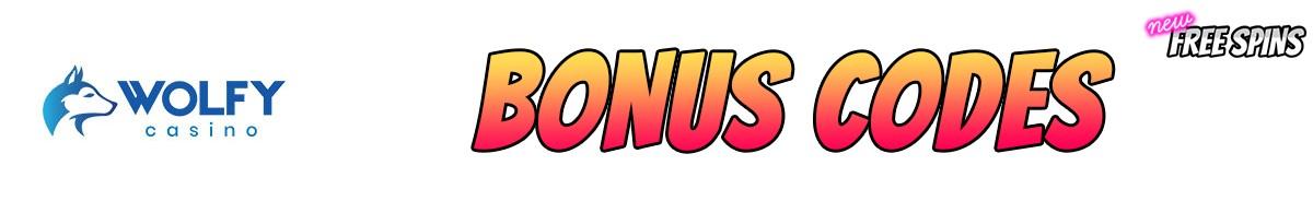 Wolfy Casino-bonus-codes