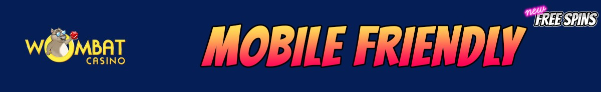 Wombat Casino-mobile-friendly