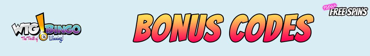 WTG Bingo-bonus-codes