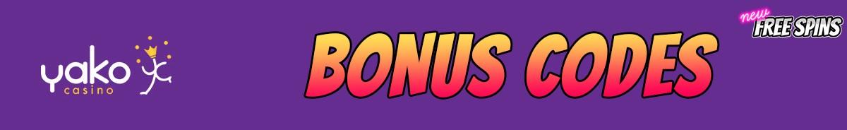 Yako Casino-bonus-codes