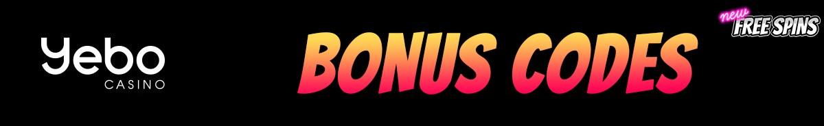 Yebo Casino-bonus-codes