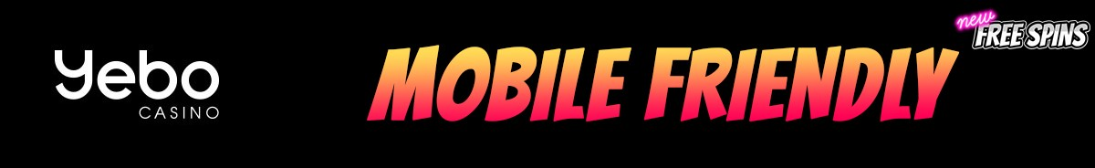 Yebo Casino-mobile-friendly