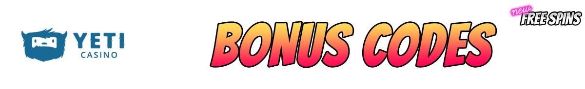 Yeti Casino-bonus-codes