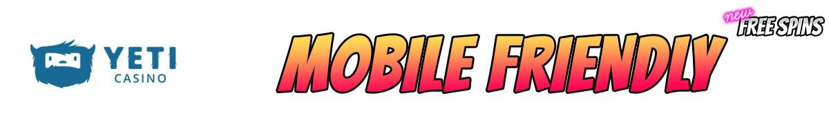 Yeti Casino-mobile-friendly