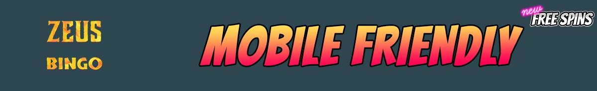 Zeus Bingo-mobile-friendly